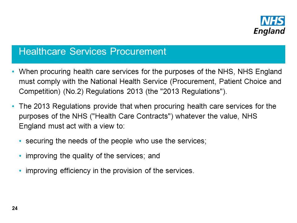 Healthcare Services Procurement