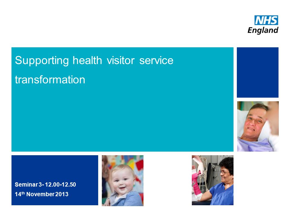 Supporting health visitor service transformation