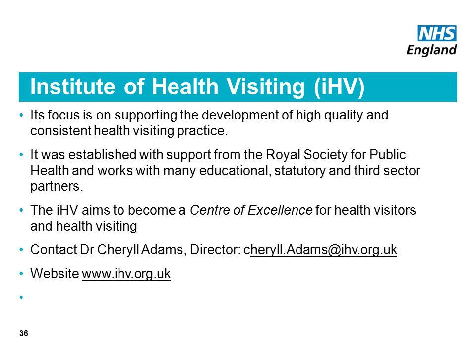 Institute of Health Visiting (iHV)