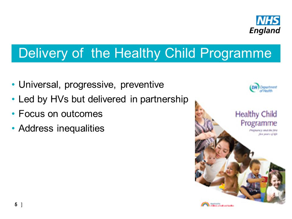 Delivery of the Healthy Child Programme