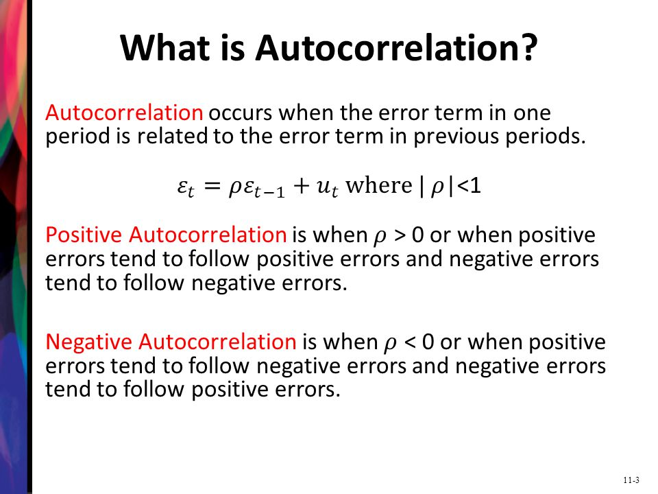 What is Autocorrelation