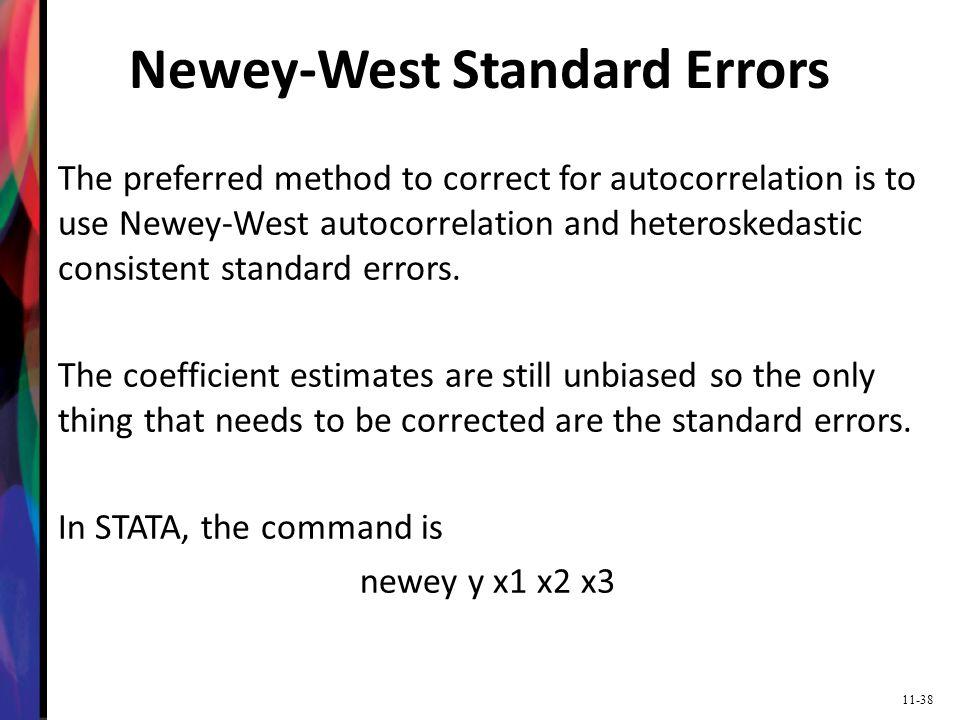 Newey-West Standard Errors