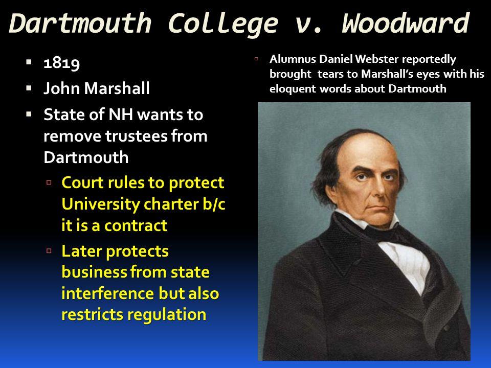 Dartmouth College v. Woodward