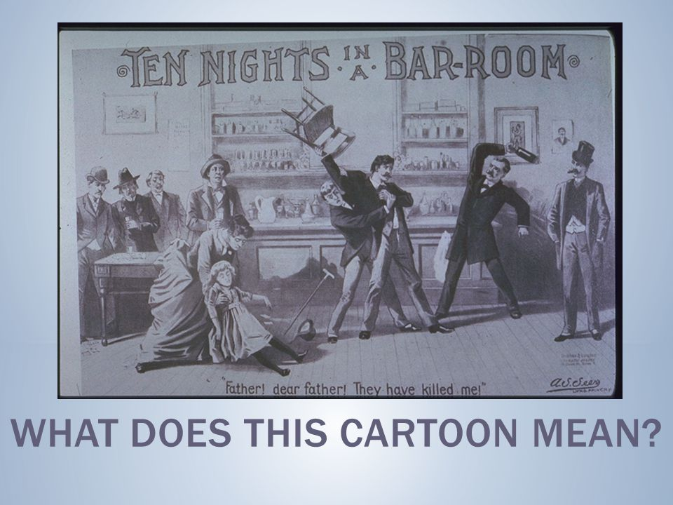 What does this cartoon mean