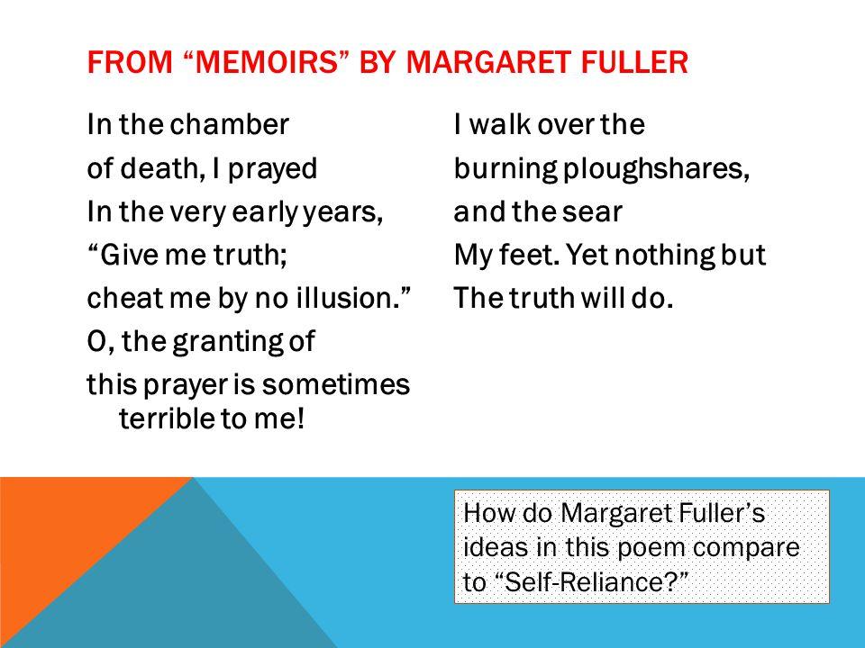 From Memoirs by Margaret Fuller
