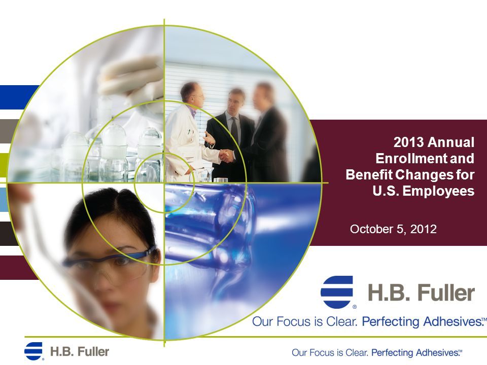 2013 Annual Enrollment and Benefit Changes for U.S. Employees