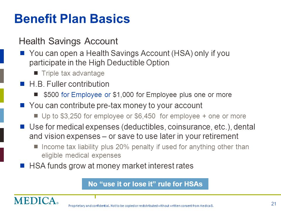 No use it or lose it rule for HSAs
