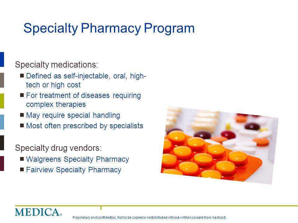 Specialty Pharmacy Program