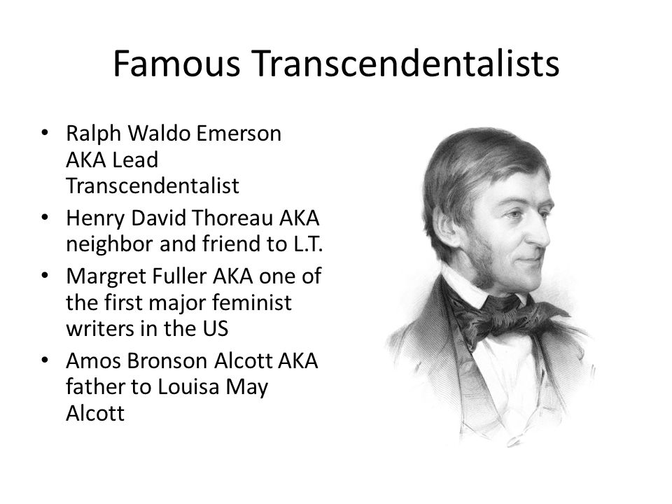 Famous Transcendentalists