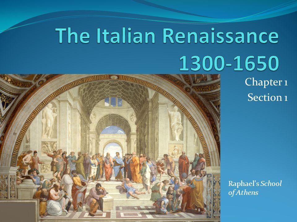 The Italian Renaissance 1300-1650