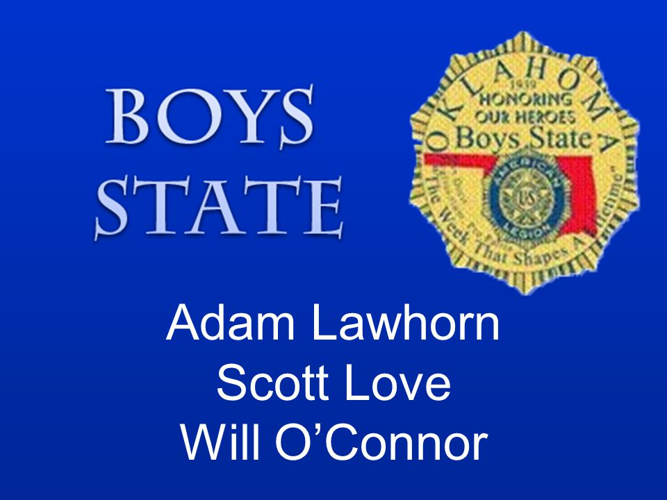 Adam Lawhorn Scott Love Will O'Connor