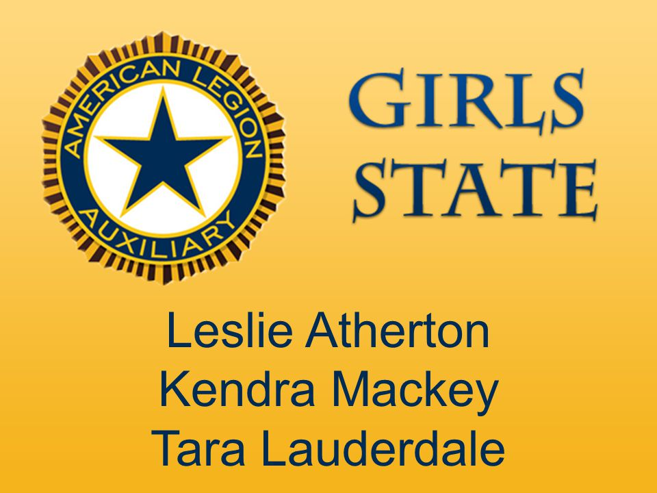Leslie Atherton Kendra Mackey Tara Lauderdale