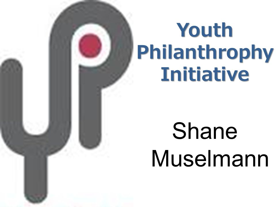 Youth Philanthrophy Initiative