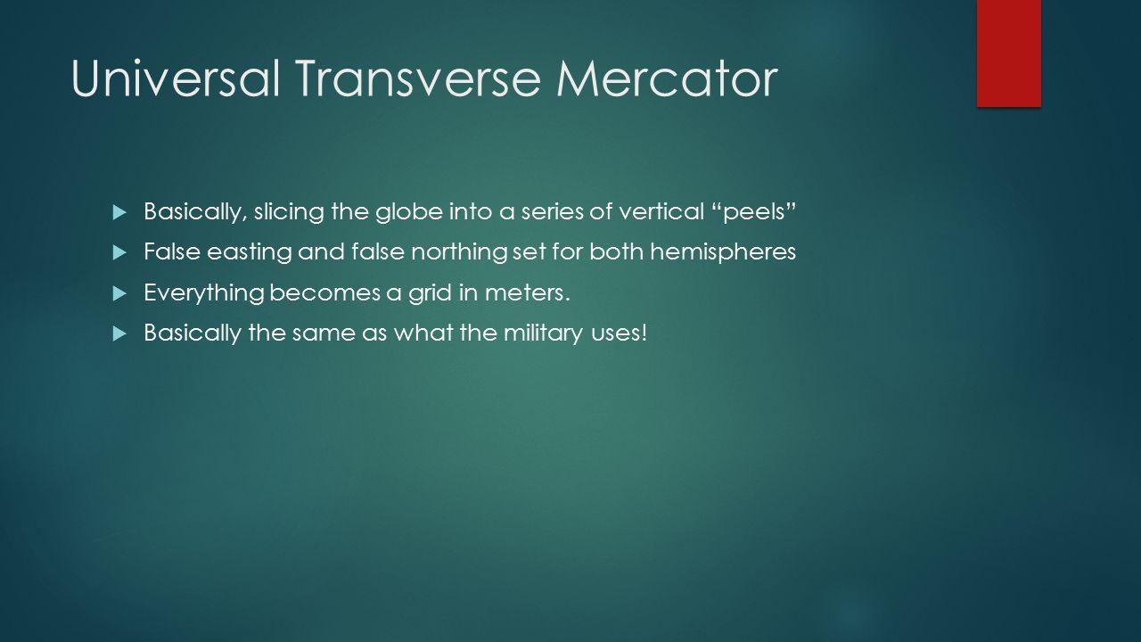 Universal Transverse Mercator