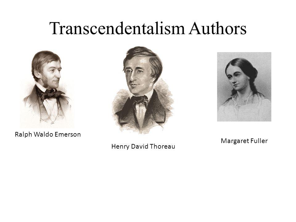 Transcendentalism Authors