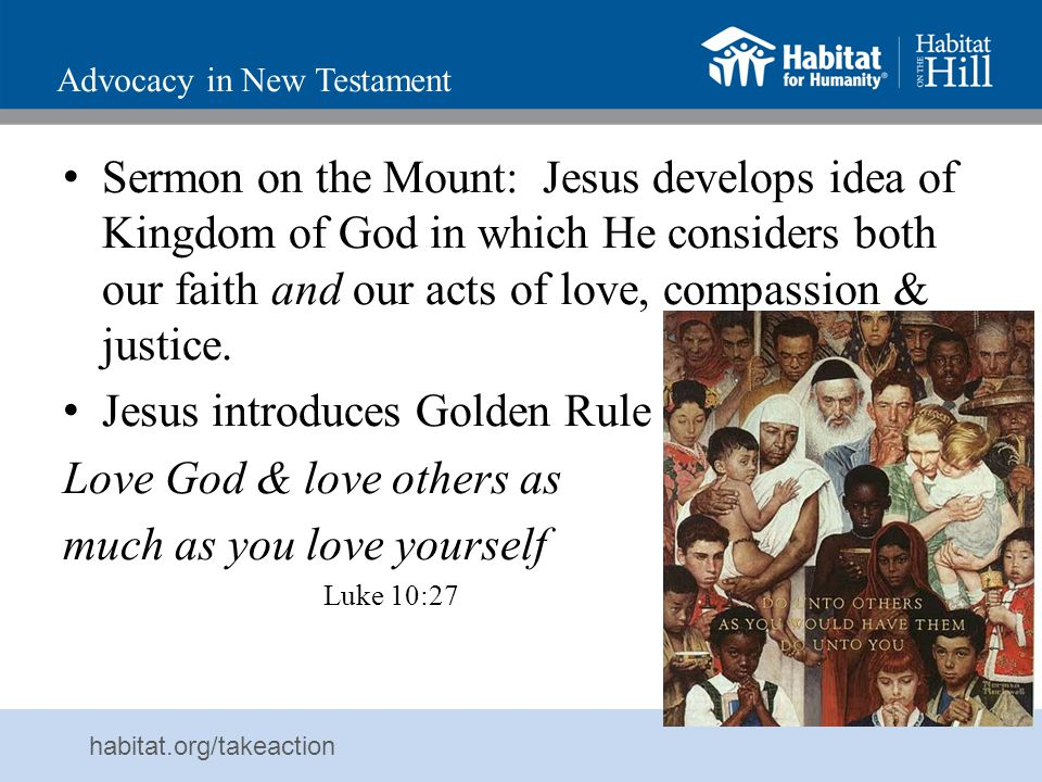 Advocacy in New Testament