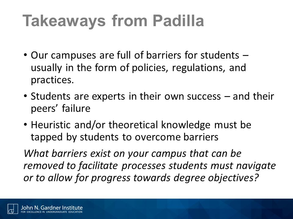 Takeaways from Padilla