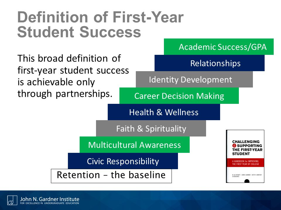 Definition of First-Year Student Success