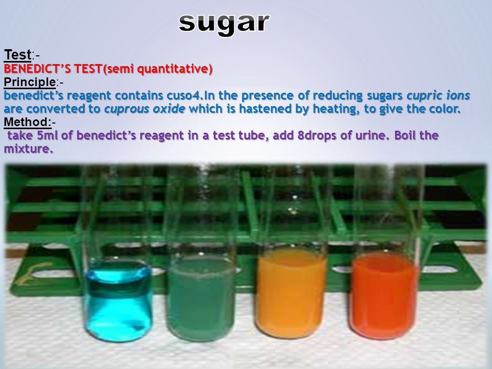 reducing sugar food test Food tests and chromatography are techniques used for the  to distinguish  between reducing and non-reducing sugars, first test a sample for reducing  sugars,.