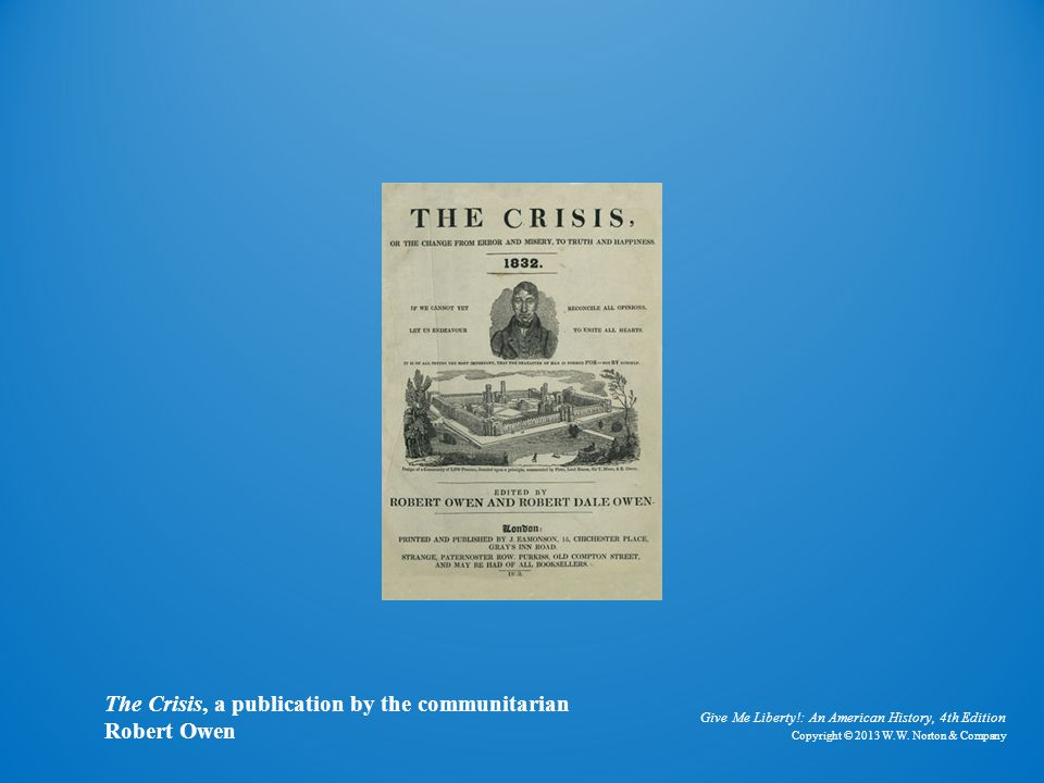 Cover of The Crisis The Crisis, a publication by the communitarian