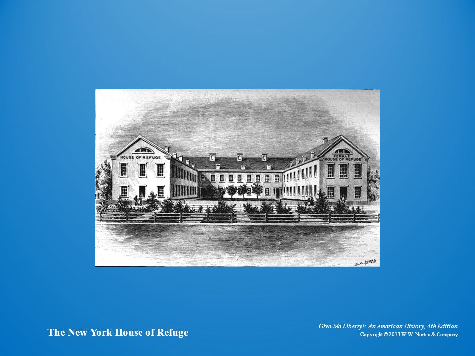 Illustration of New York House of Refuge