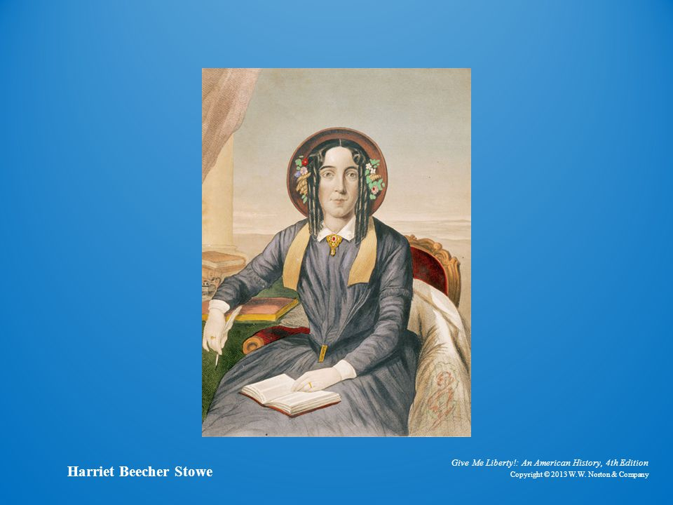 Painting of Harriet Beecher Stowe