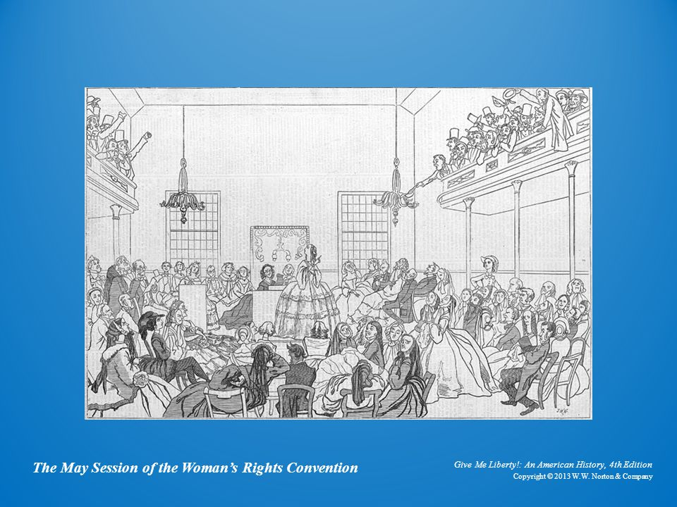 Cartoon The May Session of the Woman's Rights Convention