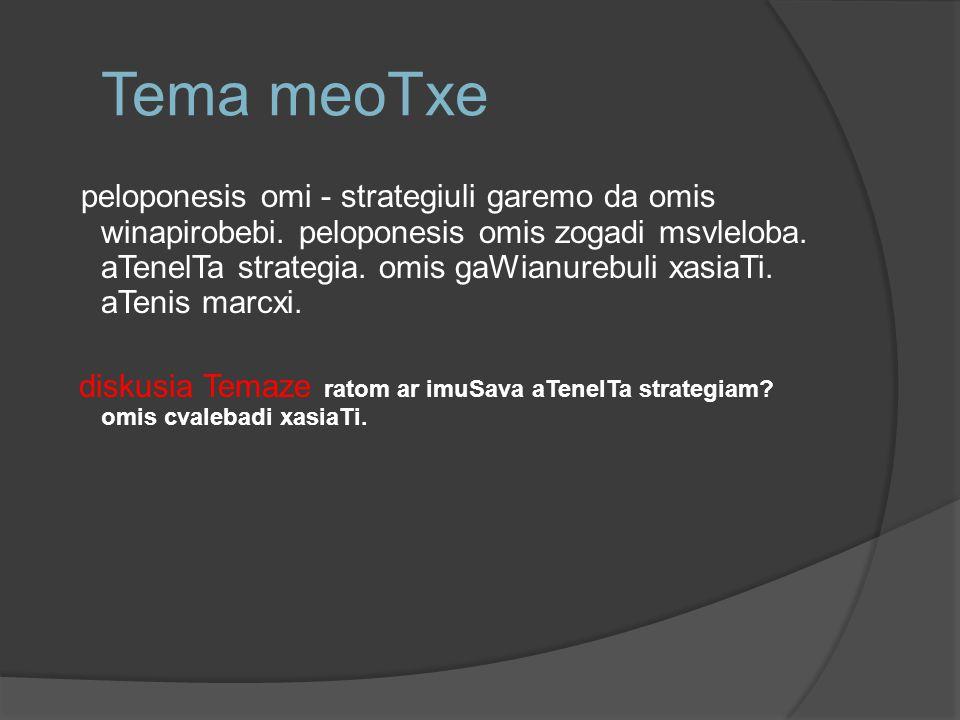 Tema meoTxe