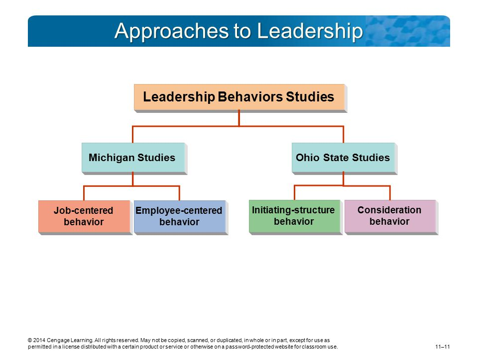 Approaches to Leadership