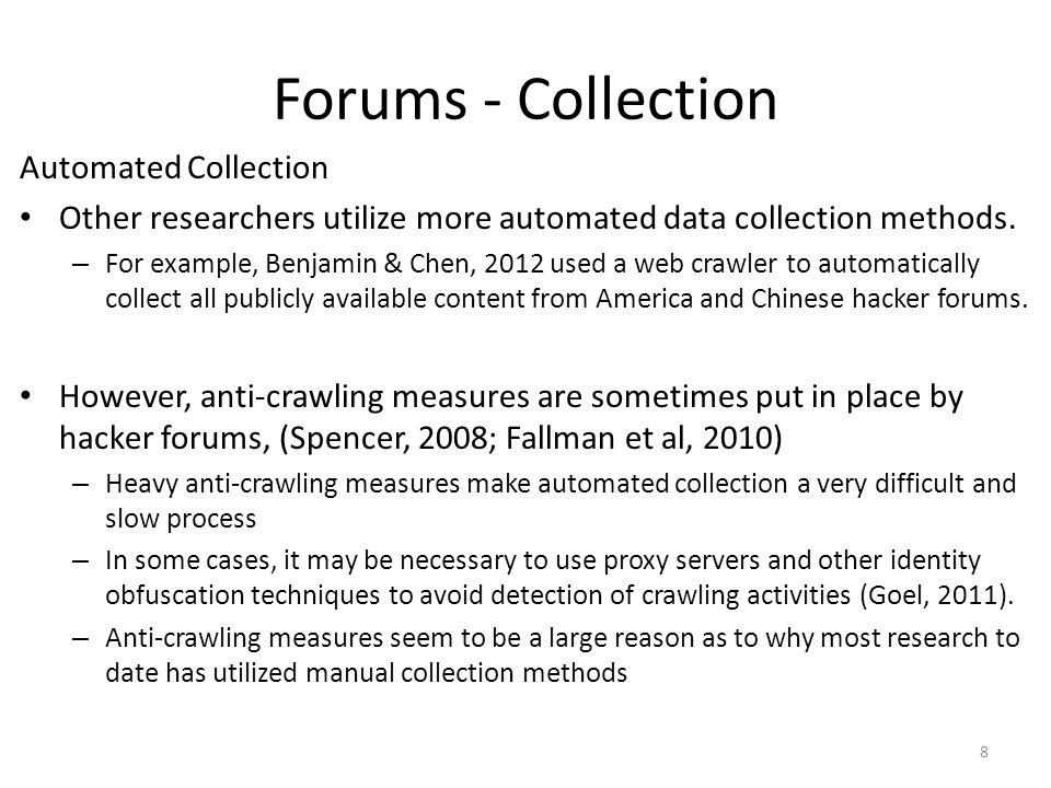 Forums - Collection Automated Collection