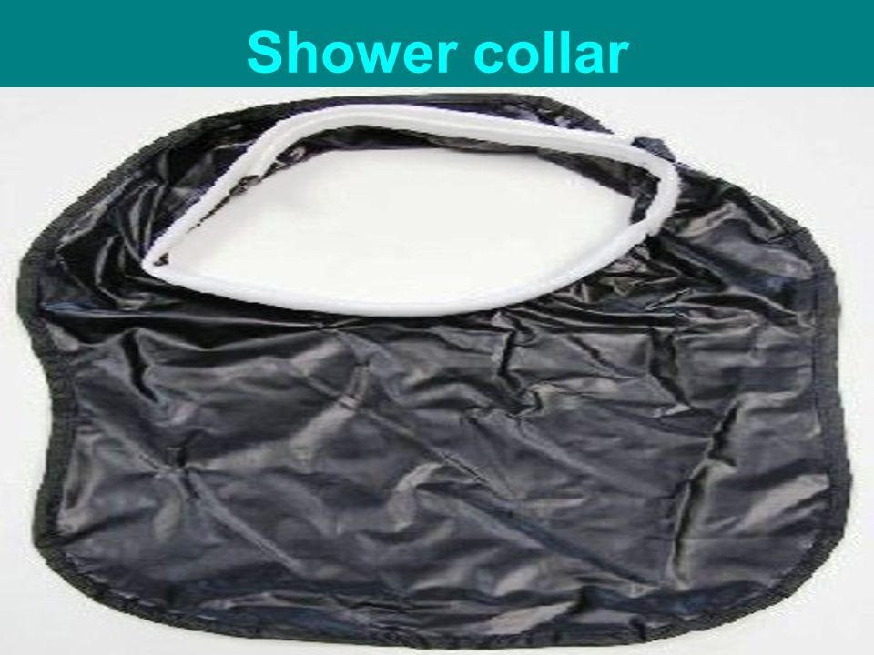 Shower collar