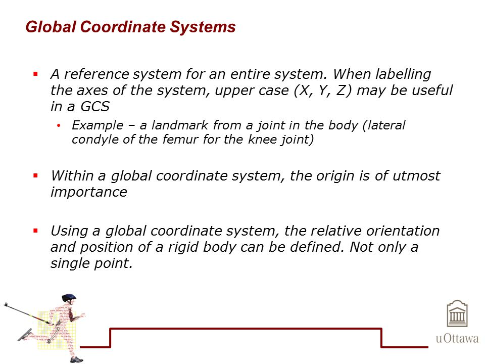 Global Coordinate Systems