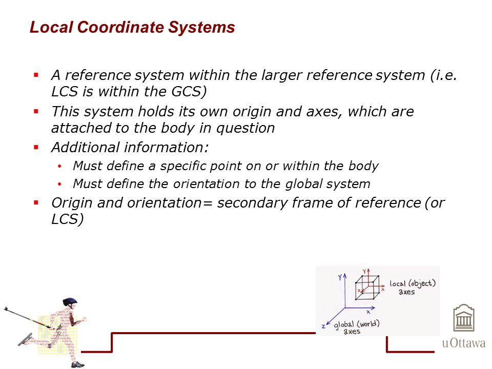 Local Coordinate Systems