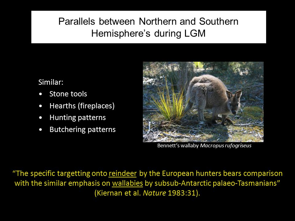 Parallels between Northern and Southern Hemisphere's during LGM