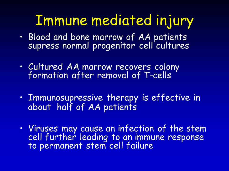 Immune mediated injury