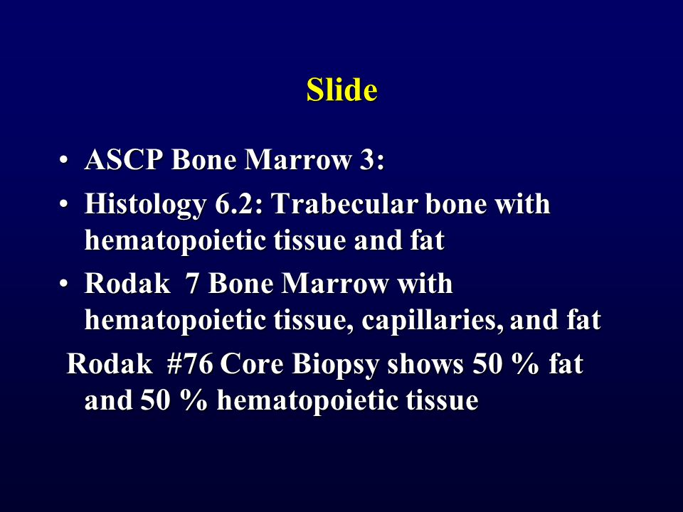 Slide ASCP Bone Marrow 3:
