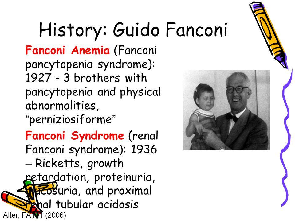 History: Guido Fanconi