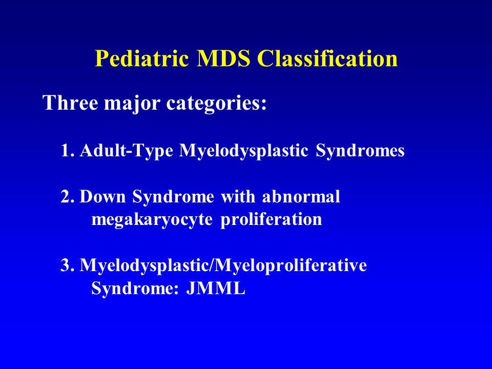 Pediatric MDS Classification