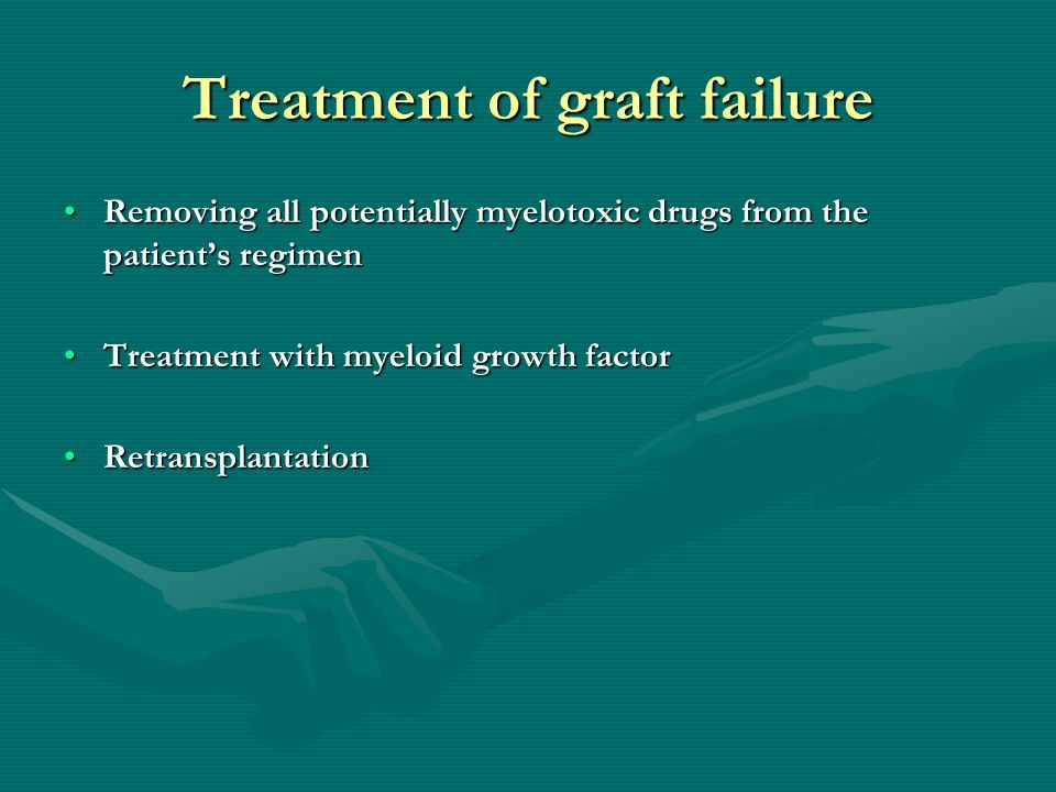 Treatment of graft failure