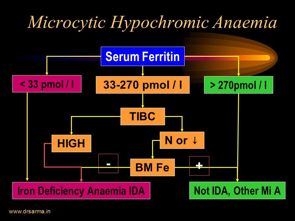 Microcytic Hypochromic Anaemia