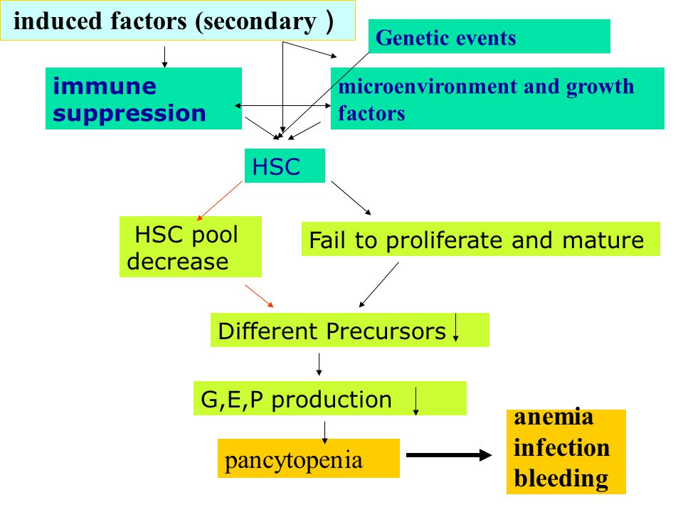 induced factors (secondary)