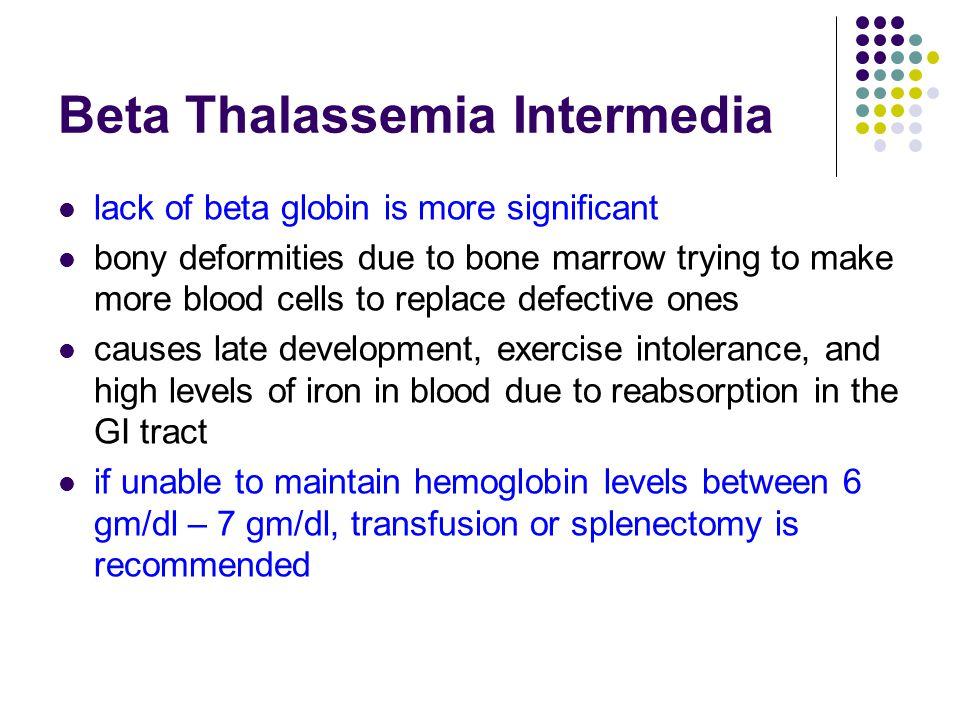 Beta Thalassemia Intermedia
