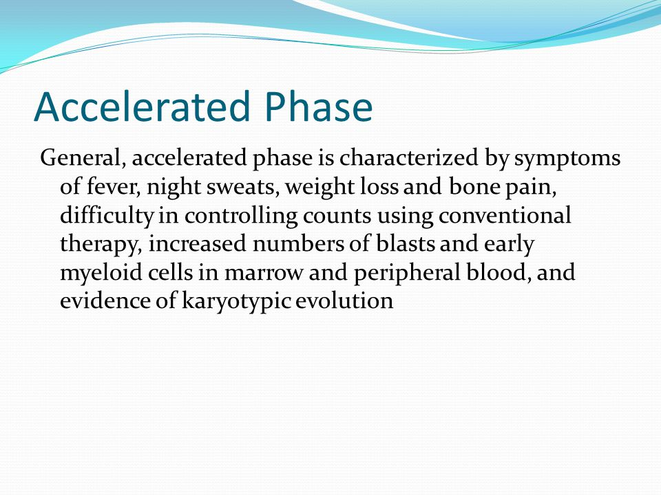 Accelerated Phase