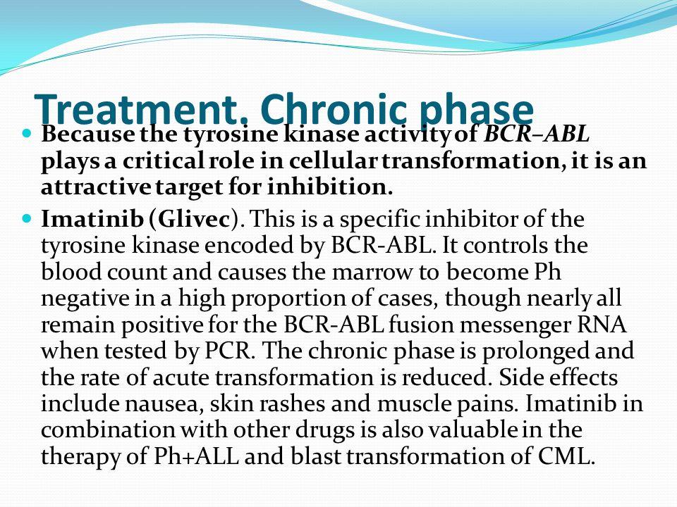 Treatment. Chronic phase