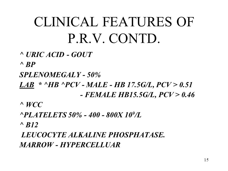 CLINICAL FEATURES OF P.R.V. CONTD.