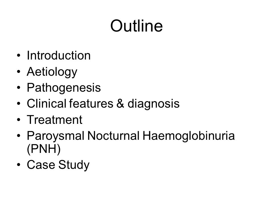 Outline Introduction Aetiology Pathogenesis