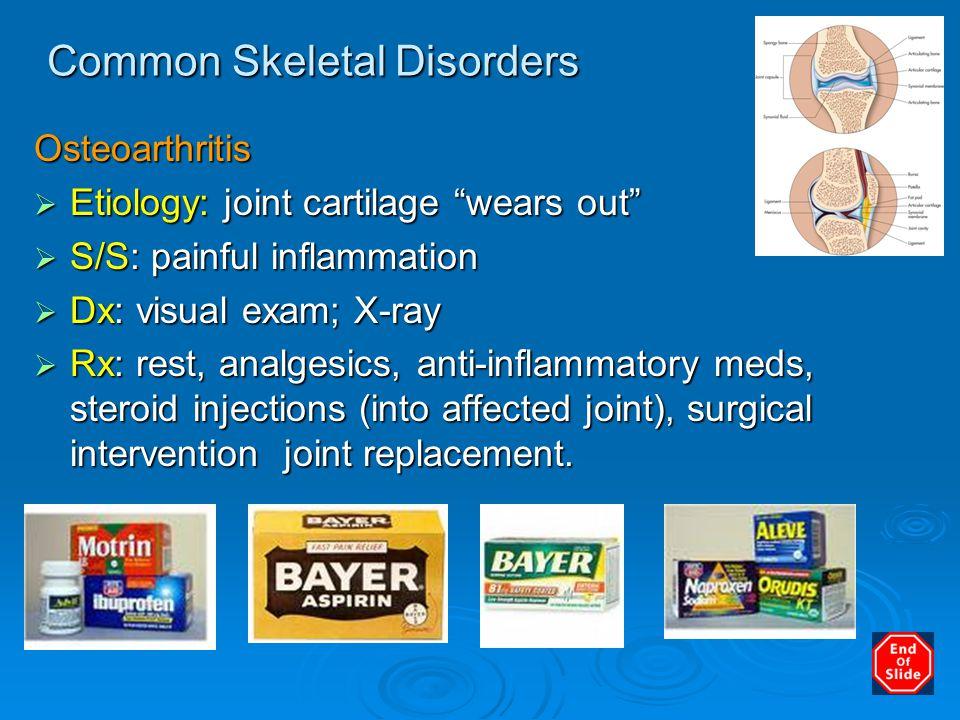 Common Skeletal Disorders