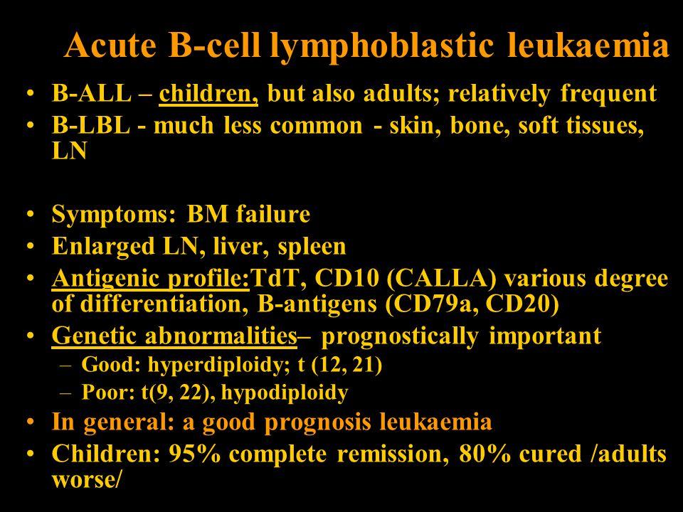 Acute B-cell lymphoblastic leukaemia