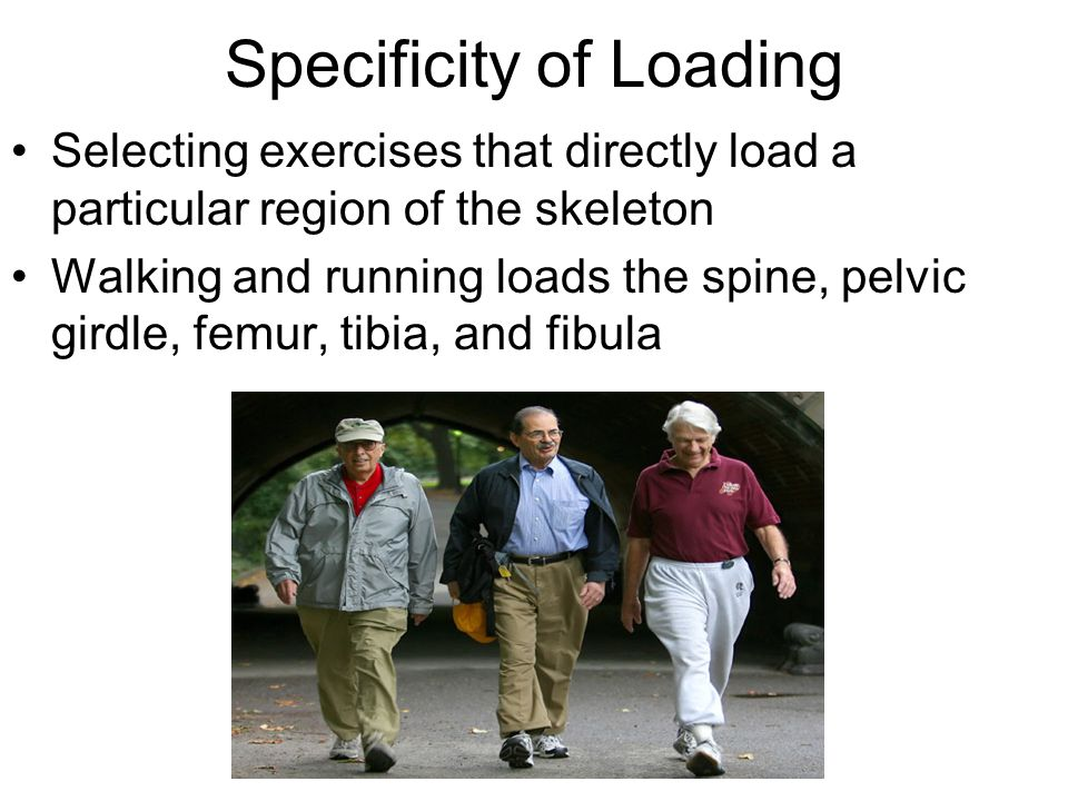 Specificity of Loading