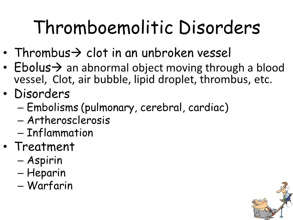 Thromboemolitic Disorders